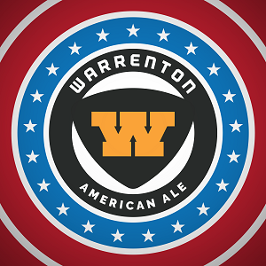 Warrenton's Great American Ale | 27 IBU's beer Label Full Size