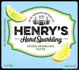 Henry's Hard Sparkling Lemon Lime Beer