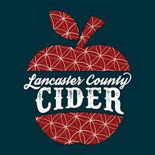 Lancaster County Frosted Cranberry Hard Cider beer Label Full Size