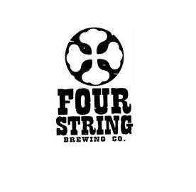 Four String Local Lager beer Label Full Size