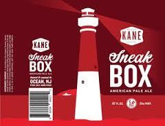 Kane Sneakbox beer Label Full Size