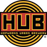 Hopworks Wave Train Amber beer