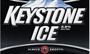 Keystone Ice beer Label Full Size