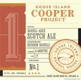 Goose Island Cooper's Project No. 1 Beer