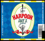 Harpoon Take 5  Session IPA Beer