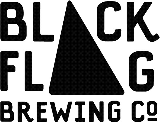 Black Flag Z. Morris beer Label Full Size