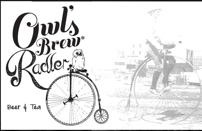 Owl's Brew Radler Wickedm beer Label Full Size