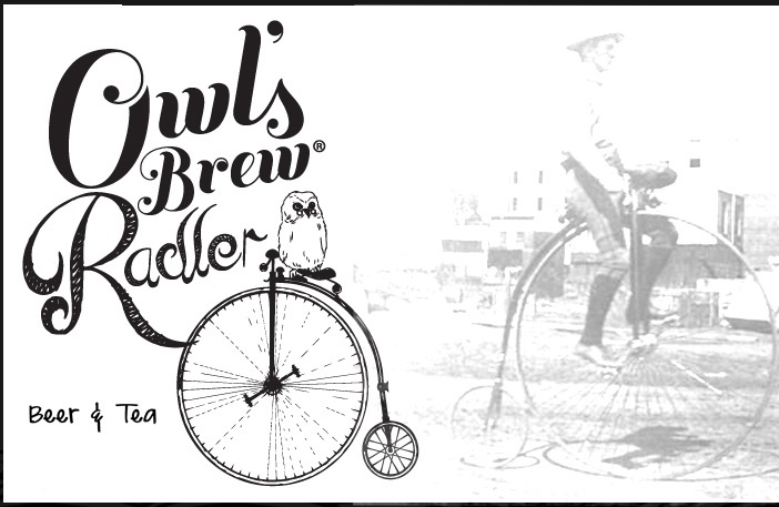 Owl's Brew Radler Wicked Melon Wheat beer Label Full Size