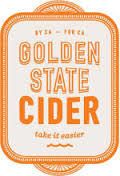 Golden State Bay Brut beer Label Full Size