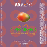 Back East Suzy Greenberg beer
