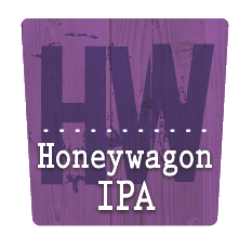 Moeller Brew Barn - Honeywagon IPA beer Label Full Size