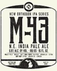Old Nation M-43 beer Label Full Size