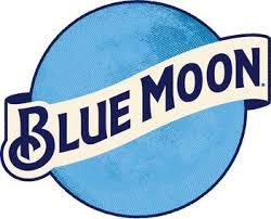 Blue Moon Belgian Style Wheat Aluminum beer Label Full Size