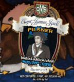 Olde Mecklenburg Captain Jack Pilsner beer