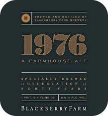 Blackberry Farm 1976 Imperial Saison Beer