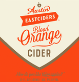 Austin Eastciders Blood Orange Cider beer