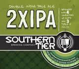 Southern Tier 2XIPA unfiltered Beer