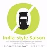 Nøgne Ø / Bridge Road India Saison Beer