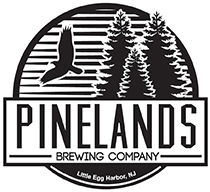 Pinelands Paradise on the Pines Nitro beer Label Full Size
