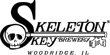 Skeleton Key Migratory Coconut beer Label Full Size