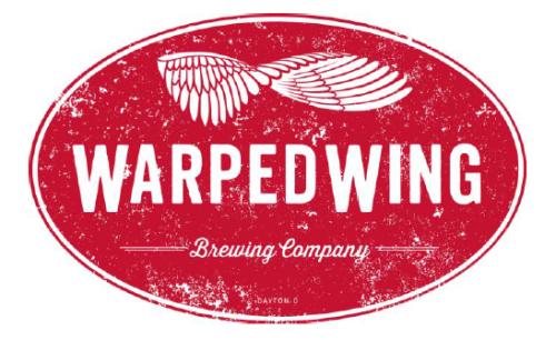 Warped Wing Gamma Bomb IPA beer Label Full Size