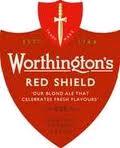 Worthington's Red Shield beer