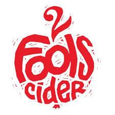 2 Fools Sweet Hard Apple Cider beer Label Full Size