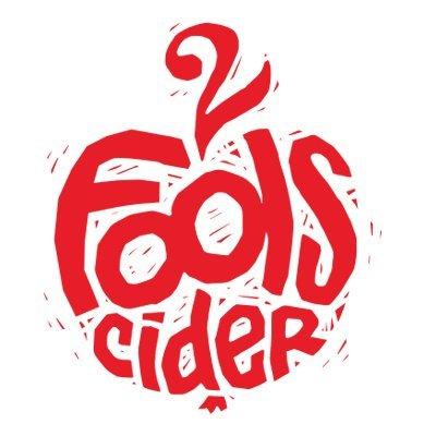 2 Fools Dry Cider beer Label Full Size