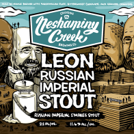 Neshaminy Creek County Leon beer Label Full Size