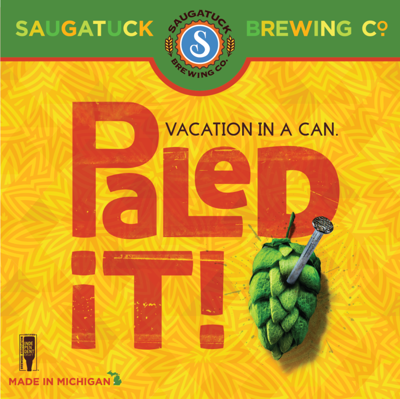 Saugatuck Paled It! beer Label Full Size