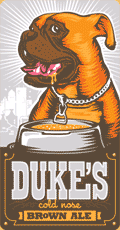 Bold City Duke's Cold Nose Brown Ale beer Label Full Size