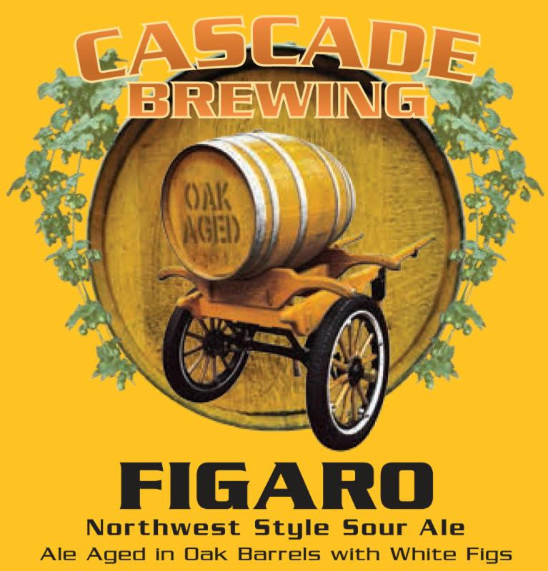Cascade Figaro Ale 2014 beer Label Full Size