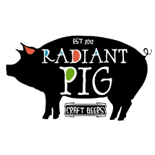 Radiant Pig Gangster Duck Red IPA beer Label Full Size