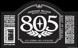 Firestone Walker 805 Honey Blonde beer Label Full Size