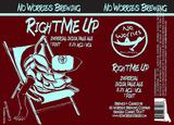 No Worries - Right Me Up beer