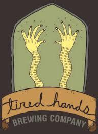 Tired Hands Prayer Group beer Label Full Size