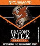 New Holland Dragon's Milk Reserve with Mexican Spice Cake 2017 beer
