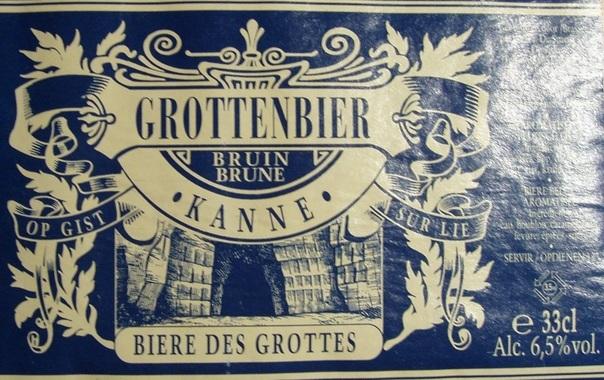 St. Bernardus Grottenbier beer Label Full Size