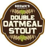 Brown's Double Oatmeal Stout beer