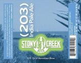 Stony Creek (203) India Pale Ale beer