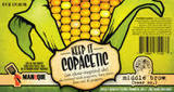 Middle Brow Copacetic Popcorn, Limes & Peppers beer