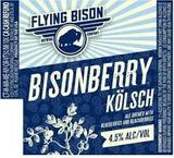 Flying Bison Bisonberry Kolsch beer