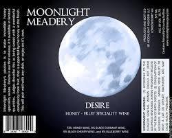 Moonlight Meadery Desire beer Label Full Size