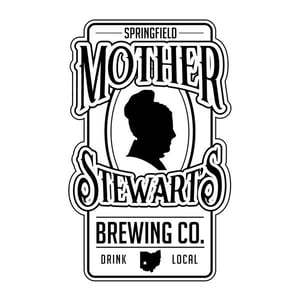 Mother Stewart's Witbier beer Label Full Size