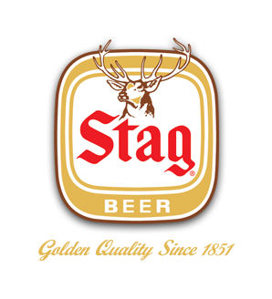 Stag beer Label Full Size