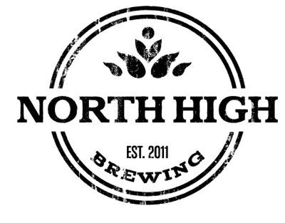 North High Local Bearings beer Label Full Size