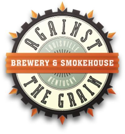 Against the Grain Ashes to Mashes Nuts to Butts beer Label Full Size