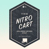 Long Live Nitro Cart Stout Beer