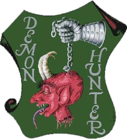Birrificio Montegioco Demon Hunter beer Label Full Size