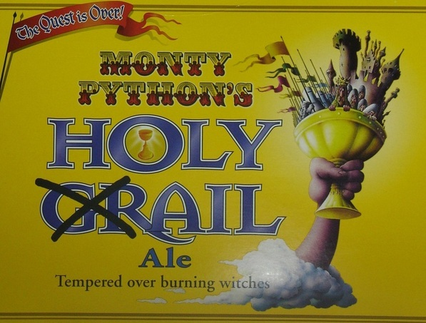 Black Sheep Holy Grail Ale beer Label Full Size